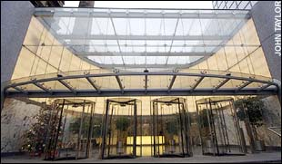 The Telegraph's offices in Victoria - pic from www.telegraph.co.uk